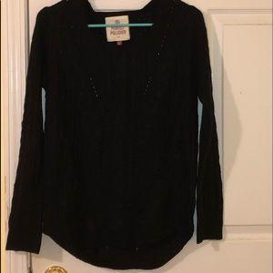 Black Sweater - Kohl's Brand